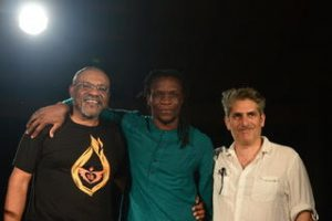 Kwame Dawes, Ishion Hutchinson, and Michael Imperioli